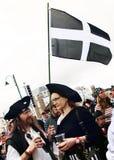 Piratkopierar på studentbalen 2014 Royaltyfri Bild