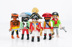 piratkopierar playmobil Fotografering för Bildbyråer