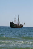 piratkopierar shipen Royaltyfria Bilder