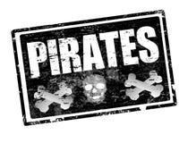 piratkopierar stämpeln Royaltyfri Bild