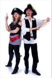 piratkopierar två Royaltyfri Foto