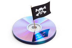piratkopiering royaltyfria bilder