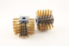 Pire delle spazzole metalliche Fotografie Stock Libere da Diritti