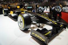 PIRELLI F1 CAR, Motor Show Geneve 2015 Royalty Free Stock Images
