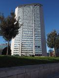 Pirelli Tower in Milan Stock Photo