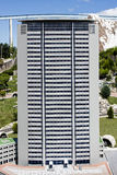 Pirelli Tower Skyscraper Milan Italy Mini Tiny Stock Photos