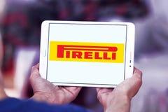Pirelli tyre manufacturer logo Royalty Free Stock Image