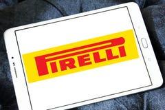 Pirelli tyre manufacturer logo Stock Photos