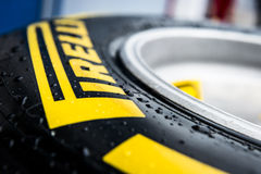 Pirelli Tyres Stock Image