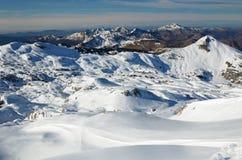 Pirenei atlantici nell'inverno Immagine Stock Libera da Diritti