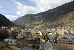 Pireneje górskie Obraz Stock