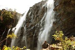 瀑布Pirenopolis -戈亚斯-巴西 库存照片