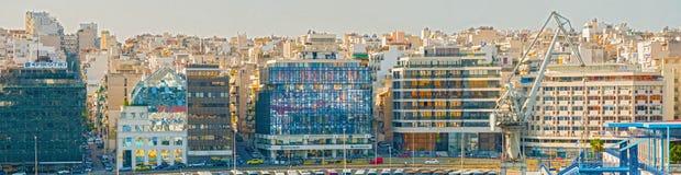 Pireo, porto vicino ad Atene in Grecia immagini stock
