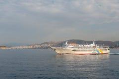 Pireus - il porto di Atene, Grecia immagine stock