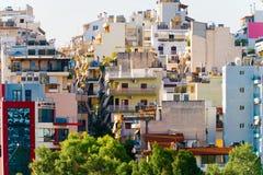 Pireus, porto vicino ad Atene in Grecia fotografia stock libera da diritti
