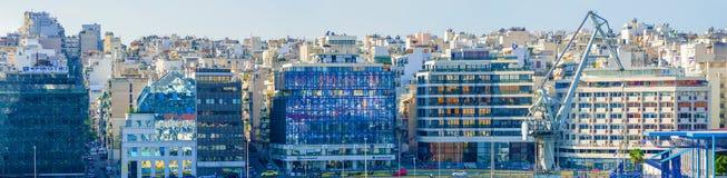 Pireus, porto vicino ad Atene in Grecia immagine stock libera da diritti