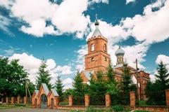 Pirevichi村庄,白俄罗斯的戈梅利州日洛宾区  免版税库存图片