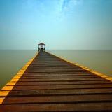 Pirhavsafton i Thailand Fotografering för Bildbyråer