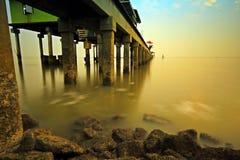 Pirhavsafton i Thailand Arkivfoton
