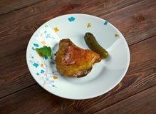 Piri-piri chicken Royalty Free Stock Images