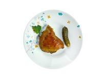 Piri-piri chicken Royalty Free Stock Photo