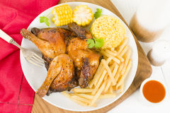 Piri Piri Chicken Royalty Free Stock Photos
