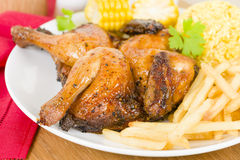 Piri Piri Chicken Royalty Free Stock Photo