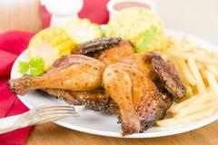 Piri Piri Chicken Royalty Free Stock Photography