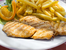 Piri-Piri chicken. Royalty Free Stock Image