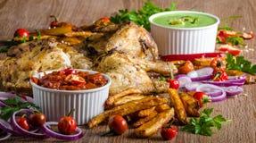 Piri piri spicy chicken Royalty Free Stock Photography