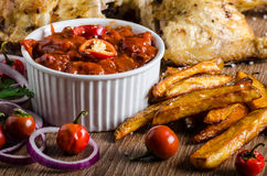 Piri piri spicy chicken Stock Photography