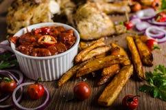 Piri piri spicy chicken Stock Photo