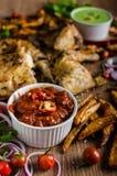 Piri piri spicy chicken Stock Images
