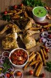 Piri piri spicy chicken Royalty Free Stock Images