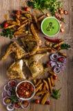 Piri piri spicy chicken Royalty Free Stock Photo