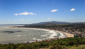 Piriapolis Bay View from the Cerro San Antonio in the Maldonado region, Uruguay Royalty Free Stock Image