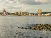 Piriapolis City Landscape Stock Image