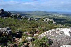 Piriapolis landscape form cerro de las animas Stock Photo