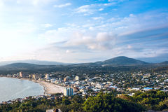 Piriapolis Town in the Uruguay Coast Stock Image