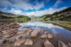 Pirin山在夏天 库存照片