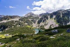 Pirin山风景 库存图片