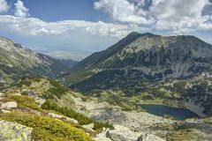 Pirin 14.1. A beautiful high mountain landscape from Pirin mountain in Bulgaria Stock Images
