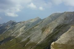 Pirin 25. A beautiful high mountain landscape from Pirin mountain in Bulgaria Stock Images