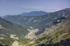 Pirin 3.3. A beautiful high mountain landscape from Pirin mountain in Bulgaria Royalty Free Stock Image