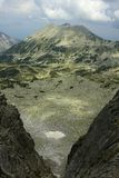 Pirin 64. A beautiful high mountain landscape with Todorka peak from Pirin mountain in Bulgaria Stock Photos