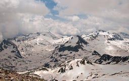 Pirin berg Arkivfoto