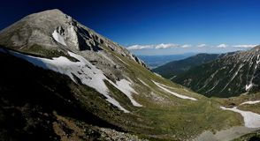pirin de montagne Photos stock