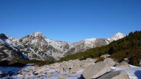 Pirin mountain. View from Pirin mountain Bulgaria royalty free stock image