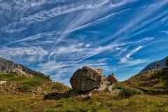 Pirin Mountain, Bulgaria in the summer stock photos