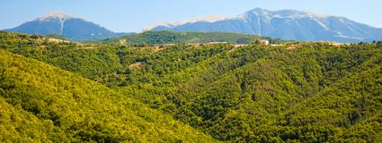 Pirin Mountain Panorama Royalty Free Stock Photos